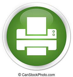 Printer green button