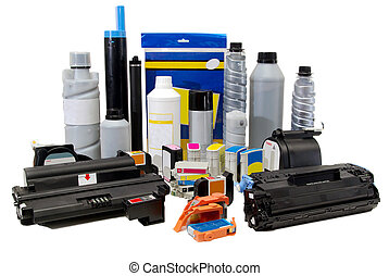 Printer supplies - Spare parts, paper, ink and toners for...