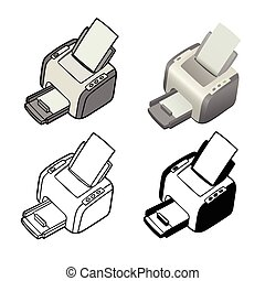 Printer - This is the printer in different renderings