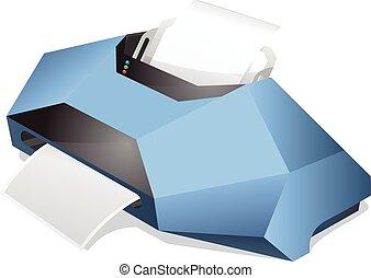Printer vector illustration