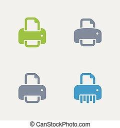 Printers - Granite Icons