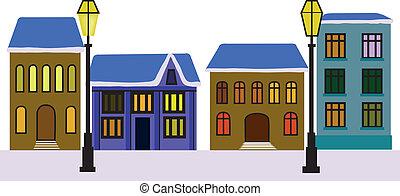 Printhouses and lanterns