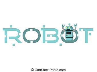 printing., から, ∥あるいは∥, typefont., 缶, ありなさい, ラベル, ステッカー, ロボット, 到来, ポスター, 使用