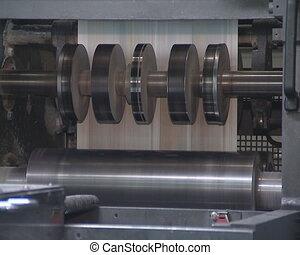 Printing daily press