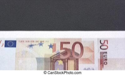 Printing Euros - Canon HV30. HD 16:9 1920 x 1080 @ 25.00...