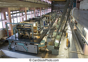 Printing house - Different printed machines and polygraphic ...