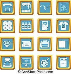 Printing icons azure