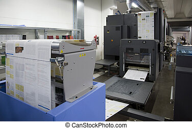Printing machine: digital web press (color Inkjet digital...
