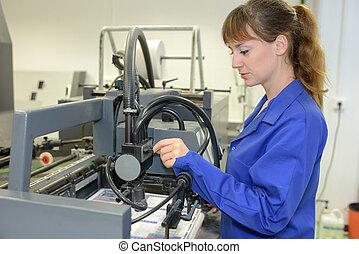 printing press laborer