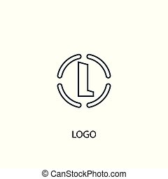 Printlogo concept line icon. Simple element illustration. logo concept outline symbol design. Can be used for web and mobile