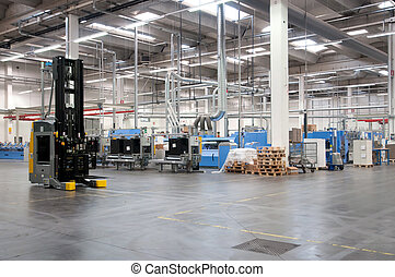 Printshop: Automated warehouse (for paper) - Automated...