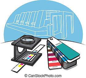 printshop, ferramentas