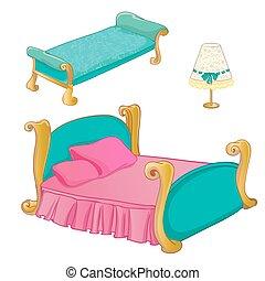 Prinzessin Schlafzimmer Mobel Satz