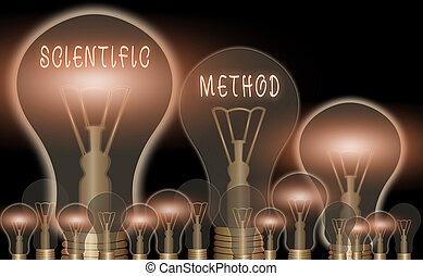 prinzipien, foto, zeichen, logisch, method., ...