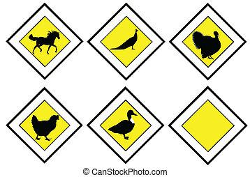 prioridade, animal, sinais
