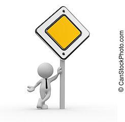 prioridade, sinal estrada