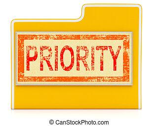 priorität, binse, unmittelbar, auslieferung, schnell, datei, shows