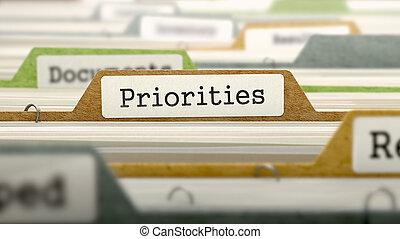 priorities, fogalom, reszelő, label.