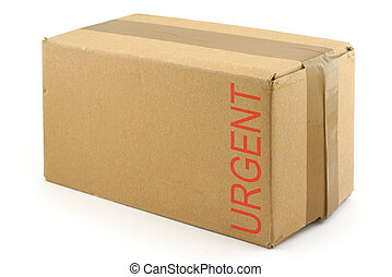 priority package isolated on white background