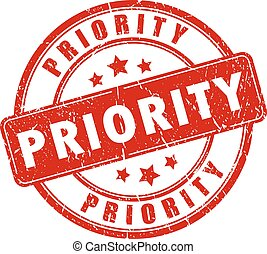Priority rubber stamp