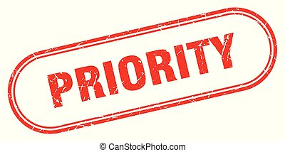 priority stamp. priority square grunge sign. priority