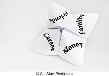 priorityes, op, fortuin kasbediende
