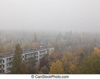 Pripyat. Ghost town.