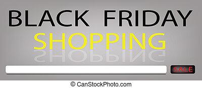 pris, fredag, försäljning, produkter, svart, baner, speciell