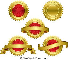 pris, medaljer