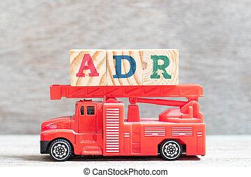 prise, mot, lettre, brûler, (abbreviation, drogue, adverse, bois, camion, bloc, fond, adr, reaction), rouges