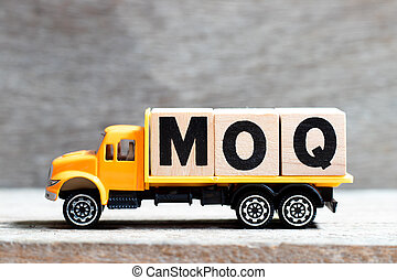 prise, quantity), minimum, camion, mot, (abbreviation, moq, ...