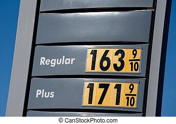 priser, gas, låg