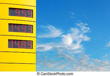 priser, gas, underteckna