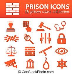 prisión, iconos