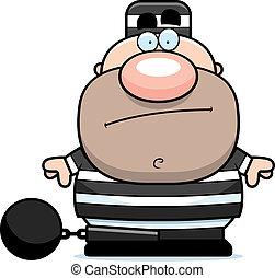 prisioneiro, caricatura