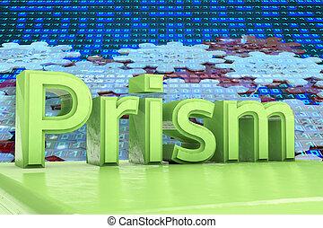 Prism - 3d rendered illustration