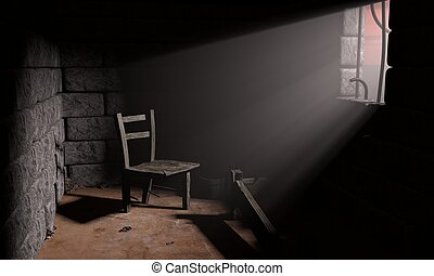 Prison - Abandoned prison after an escape