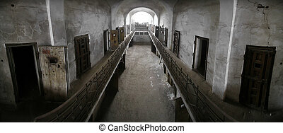 prison, abandonnés
