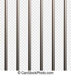 Prison Cell Bars Vector illustrationfor for your design
