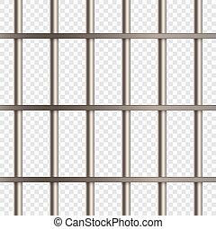 Prison Cell Bars Vector illustrationn for your design
