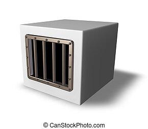 prison cube
