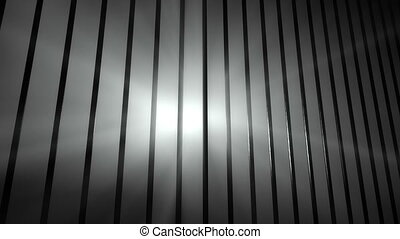 Prison Perspective - Sun rays outside from prison.
