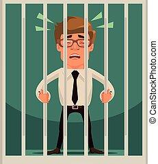 Prisoner businessman character