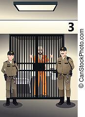 prisonnier, prison