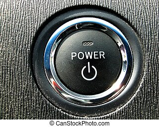 Prius Power Button - Press to start. Part of a series on...