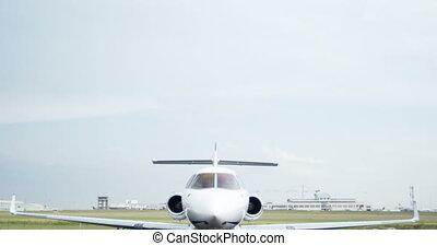 privé, terminal, jet, 4k