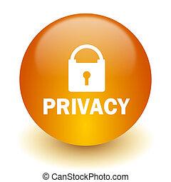 privacidade, ícone