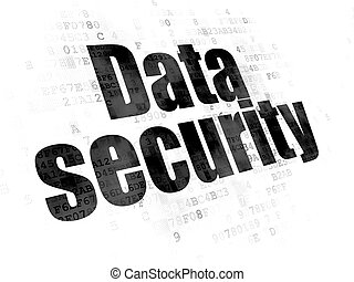 Privacy concept: Data Security on Digital background