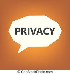 privacy concept- vector illustration