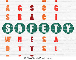 Privacy concept: word Safety in solving Crossword Puzzle